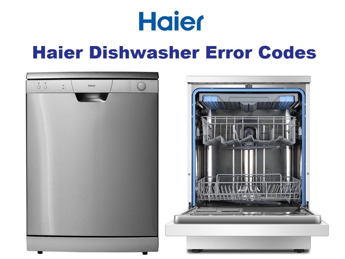 کد خطا یا ارور ماشین ظرفشویی حایر