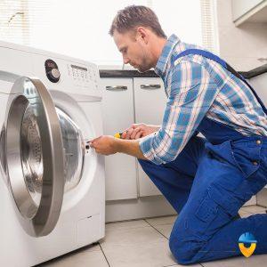 چرا ماشین لباسشویی خاموش نمی شود